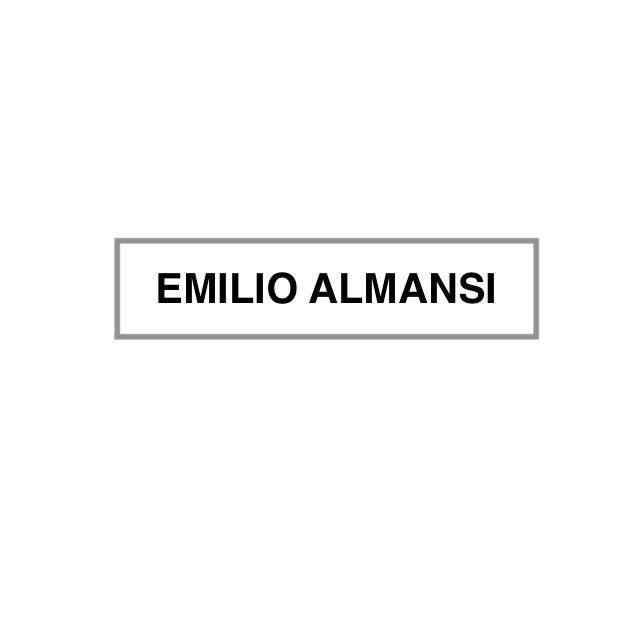 Emilio Almansi